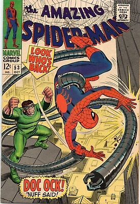 Amazing Spider-Man 53 Silver Age (1967) Dr Octopus Appearance