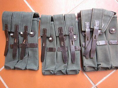 1 (one) Magazin Tasche links MP Beretta BGS wie MP40 Wehrmacht mag pouche D ring