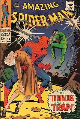 Amazing Spider-Man 54 Silver Age (1967) Dr Octopus Appearance