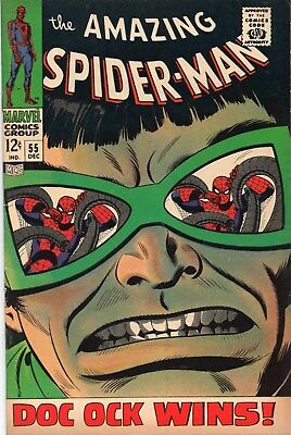 Amazing Spider-Man 55 Silver Age (1967) Dr Octopus Appearance
