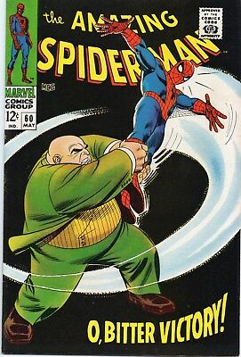 Amazing Spider-Man 60 Silver Age(1968) Kingpin Appearance.