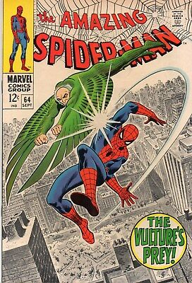 Amazing Spider-Man 64 Silver Age(1968) Vulture Appearance.