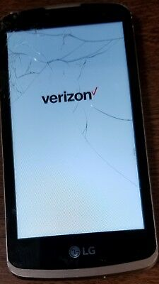 LG K4 VS425 Verizon Smartphone - BROKEN- broken screen