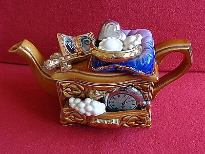 ** Magical Very Rare Jewellery Box Cardew Teapot ** ** Excellent Condition **