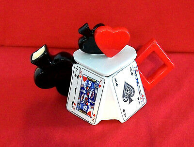 ** Ready For Game Of Cards? Superb Swc/cardew Teapot ** Excellent Condition **