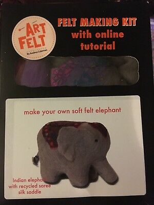 Elephant Art Felt Felt Making Kit