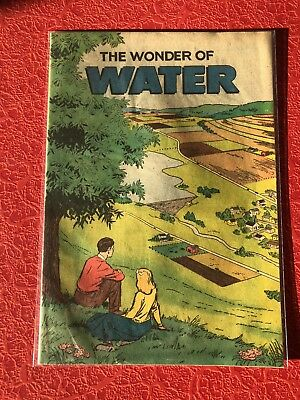 1967 The Wonder Of Water Comic Book West Chester PA Soil Conservation RARE