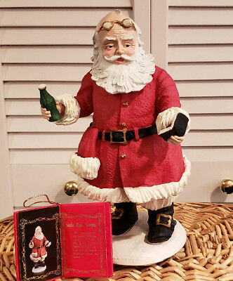 Duncan Royale SODA POP SANTA Ltd Ed Figure Christmas Certified 10.5""