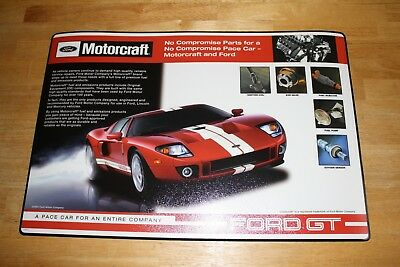 """(New) 2 - Ford GT Counter Mats - 24"""" x 16"""""""