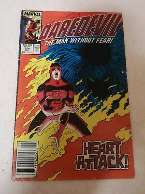 Daredevil #254 1st Typhoid Mary 1988 low grade