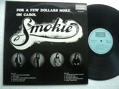 SMOKIE - For a few Dollars more/Oh Carol - Rare MALAYSIA only release LP