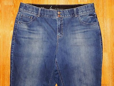 Lane Bryant Bootcut Tighter Tummy Technology  Blue Jeans Women's Size 20 - Nice!