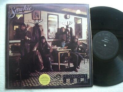 SMOKIE - Midnight Cafe - Rare Taiwan only Ltd edit. release  LP