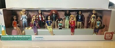 Disney Wreck it Ralph 2  Doll Lot Vanellope with Princesses NO Ariel