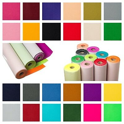 5metre Mini Roll Sticky Back Self Adhesive Felt Fabric in 48 Colours Made In UK