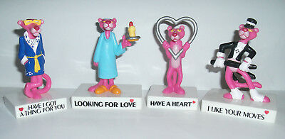 1989 Pink Panther PVC figure - Price EACH - Choose From Love-Heart-Moves-Thing