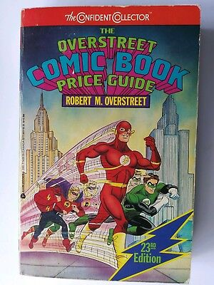 Overstreet comic book price guide #23 VG/FN