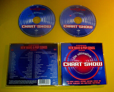"2 CDs "" DIE ULTIMATIVE CHARTSHOW "" 39 SONGS M. A-HA,THE CURE, YAZOO, SOFT CELL"