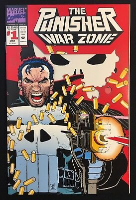 The Punisher War Zone #1 Die Cut Wraparound Cover Romita Netflix Nm/nm+ Cgc It!