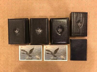 Lot Of 7 Royal Canadian Mint Proof & Uncirculated Coin Sets 1984-89