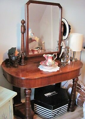 Beautiful Victorian Mahogany Duchess Antique Vintage Dressing Table