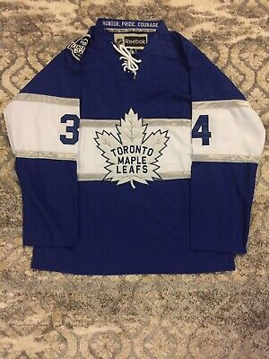Auston Matthews Centennial (100th) Toronto Maple Leafs Jersey For Sale (M-XXL)