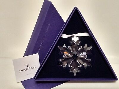 Swarovski Large Crystal Snowflake Ornament-2018 Annual Edition #5301575