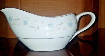 English Garden Fine China 1221 Japan Gravy Boat with Under Plate