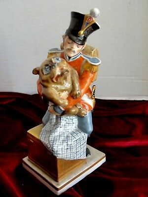 Antique Royal Copenhagen Tinderbox Soldier Figurine Christian Thomsen  1909.Rare