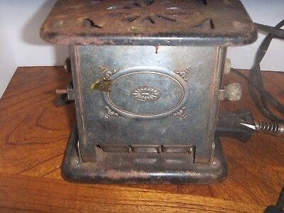 Vintage Universal Brand Toaster--Model #E3612---Working