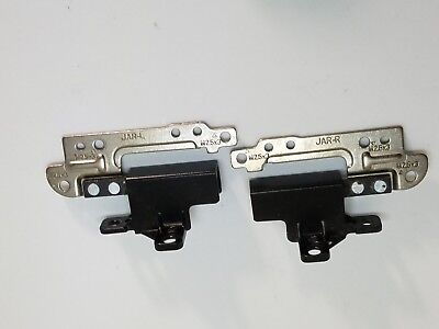 """Dell Latitude E6430 ATG 14/"""" Rugged LEFT+RIGHT LCD HINGES CHB02 QAL90 140731C36"""