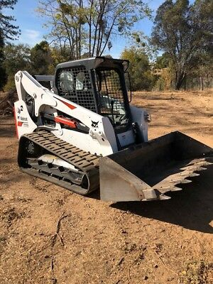 2017 Bobcat T770 Skid Steer Loader