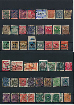 Germany, Deutsches Reich, Nazi, liquidation collection, stamps, Lot,used (DG 5)