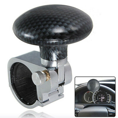 1xCar Truck Steering Wheel Handle Assister Spinner Auto Knob Ball Universal Fast