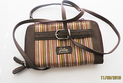 Sisters Organizer Crossbody Purse Wallet by Longaberger