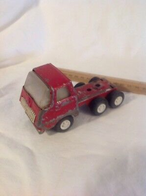 Vintage Late 1960's Early 1970's Tonka TOY Red Semi Truck Cool Vintage Tonka Toy