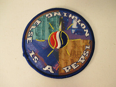 "VINTAGE PEPSI COLA ""NOTHING ELSE IS A PEPSI"" HAT PATCH or SHOULDER PATCH LQQK!!!"