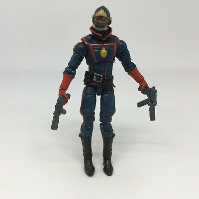 """Marvel Universe Legends Star Lord 3.75"""" Hasbro Action Figure Loose"""