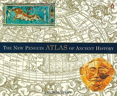 The New Penguin Atlas of Ancient History: Revised Edition New Paperback Book Col