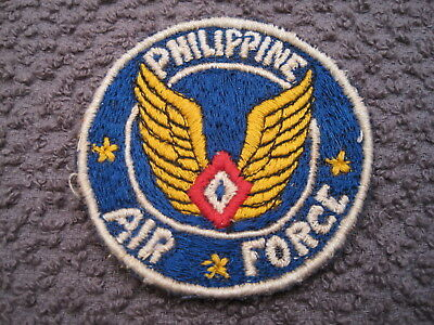 Ww Ii Era (1946) Philippine Air Force Patch Theater Made & In Great Condition !