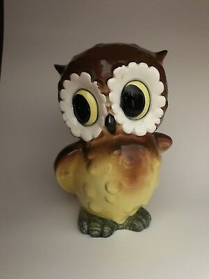 Vintage Norcrest Owl Bank Brown