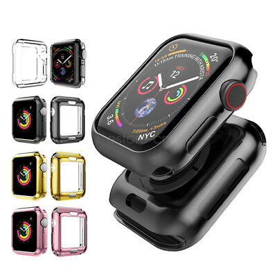 iWatch Case,TPU Protective Bumper Case For Apple Watch Series 4 40mm 44mm