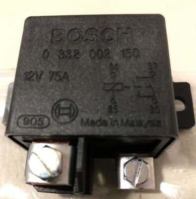 BOSCH Power Type 2 relays 12V 75A    0 332 002 150