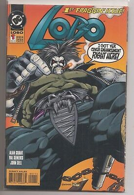 Lobo #1 Cover Enhancement Dc Comics Book Nm Condition December 1993