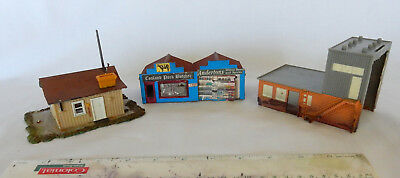 For Model Train Collectors...3 Small Buildings