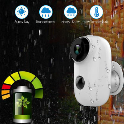 HD 1080P/720P Security Camera Wireless,WiFi Battery Operated Bullet IP Camera AU