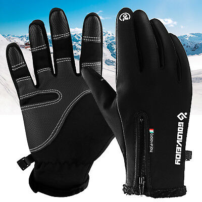 Winter Warm Gloves Touch Screen Outdoor Driving Windproof Waterproof Men Women