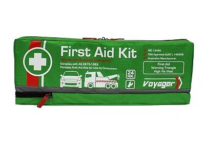 Voyager Roadside Vehicle And Emergency First Aid Kit