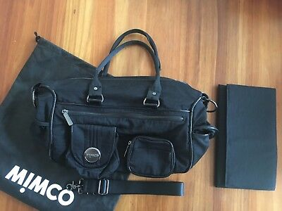 Mimco Nappy Bag Black New Never Used