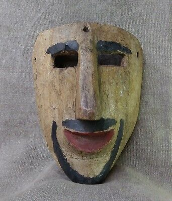 Moor Mask. Mexican Dance Mask. Mexican Folk Art.